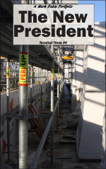 The cover of The New President