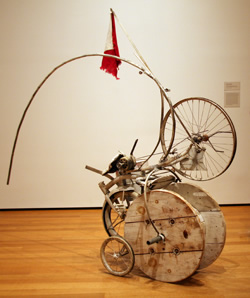 Jean Tinguely's fragrament from Homage to New York, MOMA