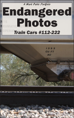 Cover of Endangered Photos: Train Cars #112-222