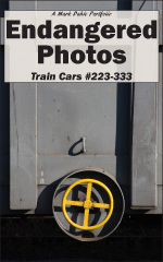 Cover of Endangered Photos: Train Cars #223-333