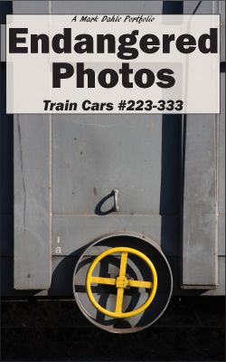 Endangered Photos: Train Cars #223-333