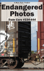 Cover of Endangered Photos: Train Cars #334-444