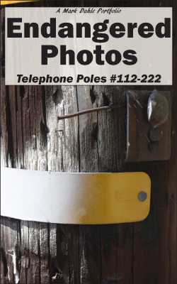 Cover of Endangered Photos: Telephone Poles #112-222