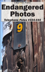 Cover of Endangered Photos: Telephone Poles #334-444