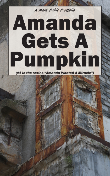 Limited Edition Artwork based on the cover of Amanda Gets A Pumpkin, copyright Mark Dahle 2014